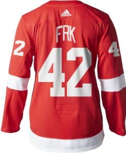 Martin Frk Detroit Red Wings Men's Adidas AUTHENTIC Home Jersey