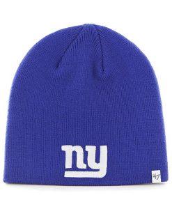 New York Giants YOUTH 47 Brand Blue Beanie Hat