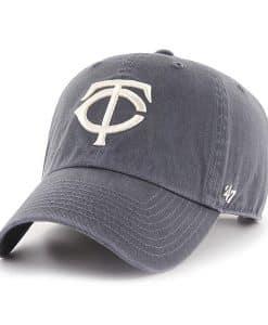 Minnesota Twins 47 Brand Vintage Navy Clean Up Adjustable Hat
