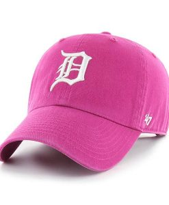 Detroit Tigers Women's 47 Brand Orchid Clean Up Adjustable Hat