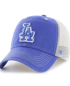 Los Angeles Dodgers 47 Brand Taylor Closer Blue Stretch Fit Hat