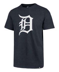 Detroit Tigers Men's 47 Brand Navy Club Tee
