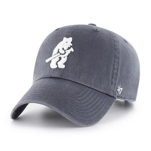 Chicago Cubs 47 Brand Vintage Cooperstown Navy Clean Up Adjustable Hat