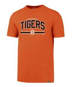 Detroit Tigers Men's 47 Brand Orange Rival T-Shirt Tee