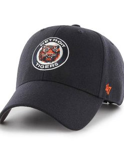 Detroit Tigers 47 Brand MVP Navy Cooperstown Adjustable Hat