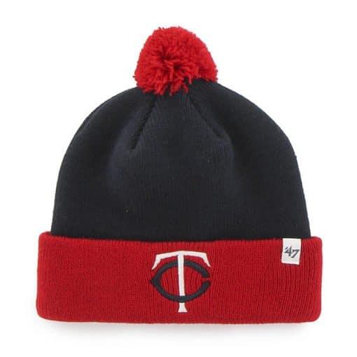 Minnesota Twins TODDLER 47 Brand Navy Bam Bam Cuff Knit Hat