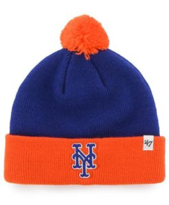 New York Mets TODDLER 47 Brand Bam Bam Cuff Knit Hat