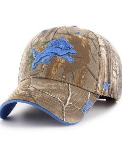 Detroit Lions 47 Brand Realtree Camo Frost MVP Adjustable Hat