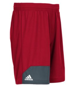 Men's Adidas Red Climalite Spirit Pack Training Shorts