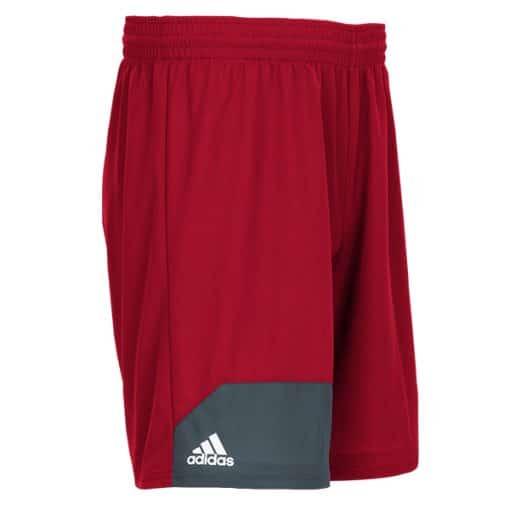 Men's Adidas Red Climalite Spirit Pack Training Shorts