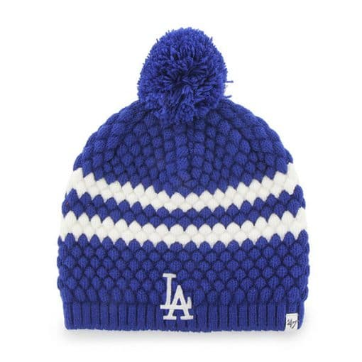 Los Angeles Dodgers Women's 47 Brand Blue Kendall Beanie Knit Hat