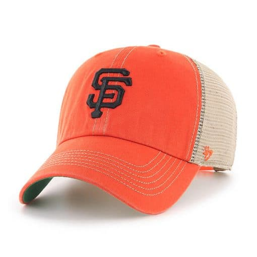 San Francisco Giants 47 Brand Trawler Orange Clean Up Adjustable Hat