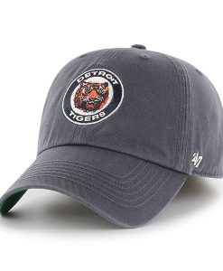 Detroit Tigers 47 Brand Classic Vintage Navy Franchise Fitted Hat