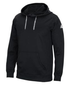 Men's Adidas Black HD Tech Fleece Pullover Hoodie