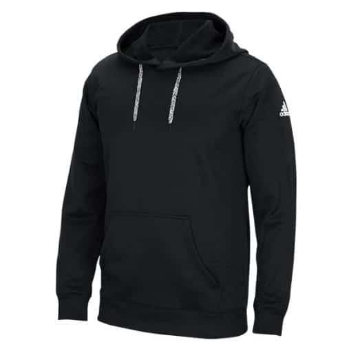 Men's Adidas Black HD Tech Fleece Pullover Hoodie