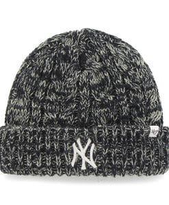 New York Yankees Women's 47 Brand Navy Gray Prima Cuff Knit Hat
