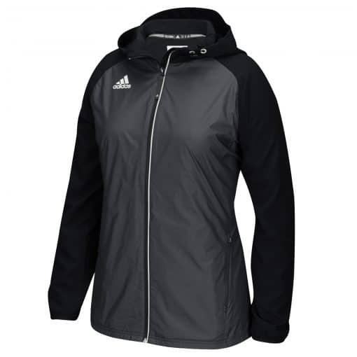 Women's Adidas Black Full Zip Jacket