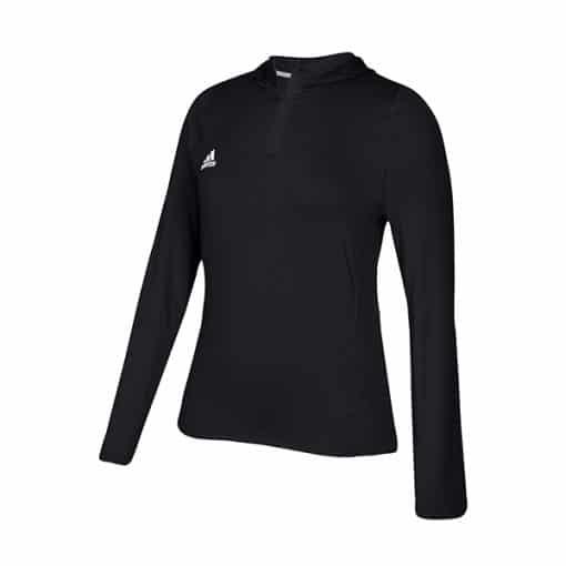 Women's Adidas Black Training 1/4 Zip Hoodie Pullover
