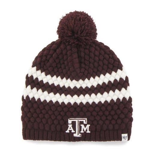 Texas A&M Aggies Women's 47 Brand Dark Maroon Kendall Beanie Hat