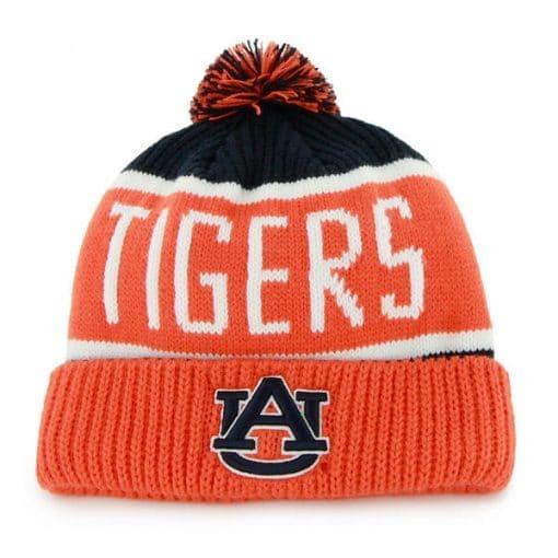 Auburn Tigers Calgary Cuff Knit Navy 47 Brand Hat
