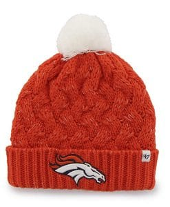 Denver Broncos 47 Brand Orange Fiona Cuff Knit Women's Hat