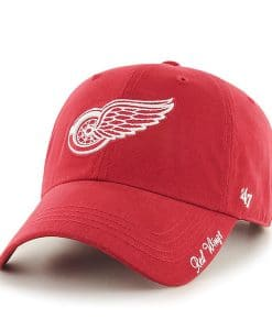 Detroit Red Wings Women's 47 Brand Red Miata Adjustable Hat