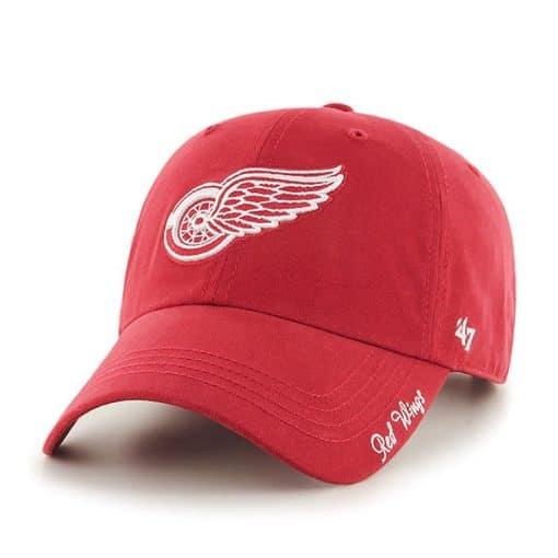 Detroit Red Wings Women's 47 Brand Red Miata Adjustable Hat