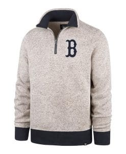 Boston Red Sox 47 Brand Men's Kodiak 1/4 Zip Pullover