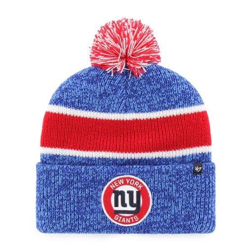 New York Giants 47 Brand Vintage Legacy Blue Cuff Knit Hat