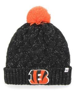Cincinnati Bengals 47 Brand Women's Black Fiona Cuff Knit Hat