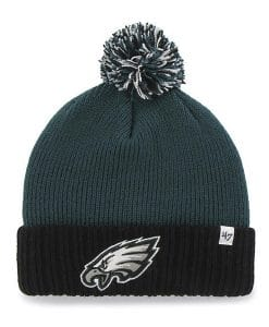 Philadelphia Eagles 47 Brand YOUTH Dunston Pacific Green Cuff Knit Hat