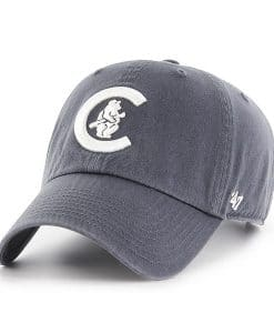 Chicago Cubs 47 Brand Vintage Navy Cooperstown Clean Up Adjustable Hat