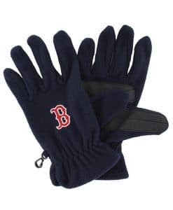 Boston Red Sox Men's 47 Brand Navy Fleece Gloves