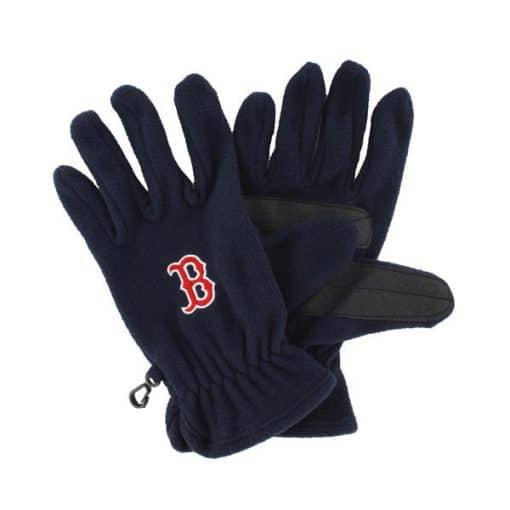 Boston Red Sox Men's 47 Brand Navy Fleece Gloves