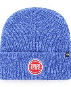 Detroit Pistons 47 Brand Royal Brain Freeze Cuff Knit Hat