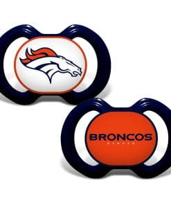 Denver Broncos Navy Pacifier 2 Pack