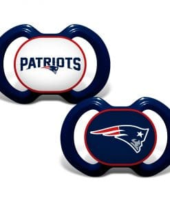 New England Patriots Navy Patriots Pacifier 2 Pack