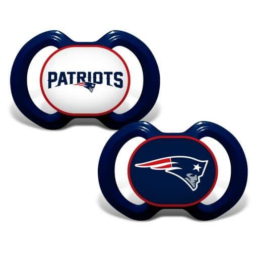 New England Patriots Navy Patriots Pacifier 2 Pack