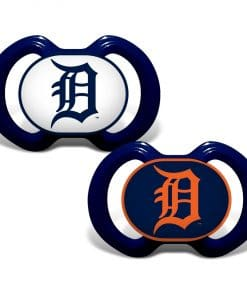 Detroit Tigers Navy Blue Pacifier 2 Pack