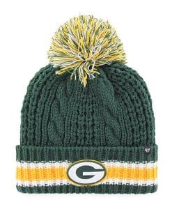 Green Bay Packers Women's 47 Brand Dark Green Sorority Cuff Knit Hat