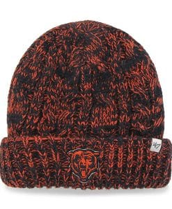 Chicago Bears Women's 47 Brand Orange Navy Prima Cuff Knit Hat