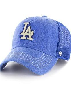 Los Angeles Dodgers 47 Brand Royal Burnstead Mesh Adjustable Hat