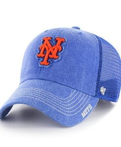 New York Mets 47 Brand Royal Burnstead Mesh Adjustable Hat