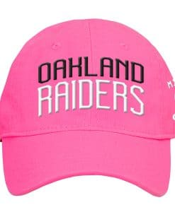 Oakland Raiders INFANT Baby Pink My First Cap Hat