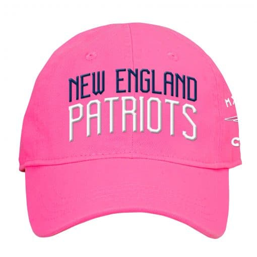 New England Patriots INFANT Baby Pink My First Cap Hat