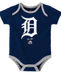 Detroit Tigers Baby Navy Onesie Creeper