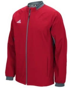 Men's Adidas Red Fielder's Choice Full Zip Jacket