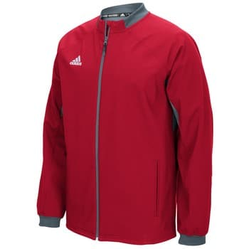 Men's Adidas Red Fielder's Choice Full Zip Jacket