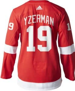 Yzerman Detroit Red Wings Men's Adidas AUTHENTIC Home Jersey