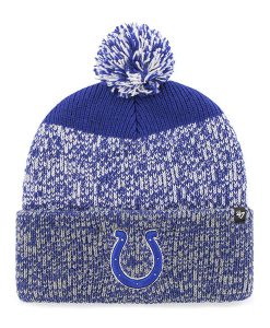 Indianapolis Colts 47 Brand Royal Static Cuff Knit Hat